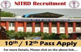 NITRD Recruitment – 56 Specialist, System Analyst, Health Education Officer & Other Posts – 10th / 12th Pass Apply Now
