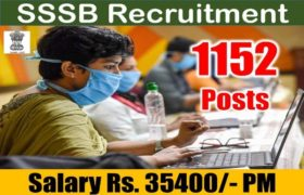 SSSB Recruitment – 1152 Irrigation Booking Clerk, Zilladar & Other Posts – 10th Pass Apply Now
