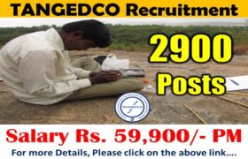 TANGEDCO Recruitment – 2900 Field Assistant (Trainee) Posts – ITI Pass Apply Now