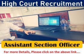 High Court Recruitment - 202 Assistant Section Officer (ASO) Posts - Apply Now