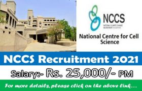NCCS Recruitment – Medical Consultant Post – Apply Now